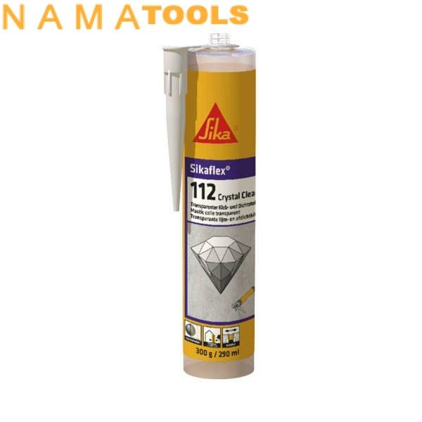 چسب سیلیکونی سیکا مدل crystal 112