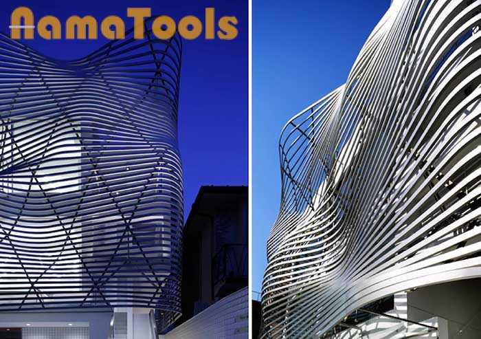 کاربرد لاستیک pvc در نمای ساختمان